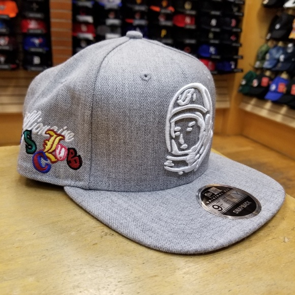 544bbb4f56d NWT Billionaire Boys Club Heather Helmet Snapback